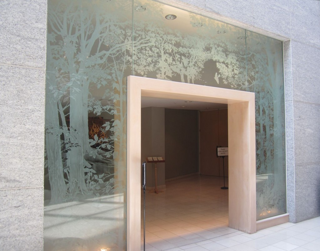 Etched Glass Portal